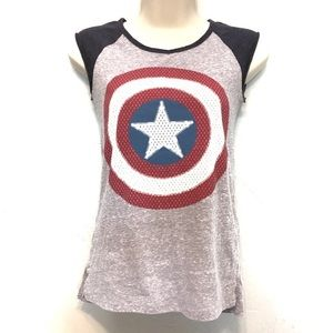 Marvel Captain America Tank Top